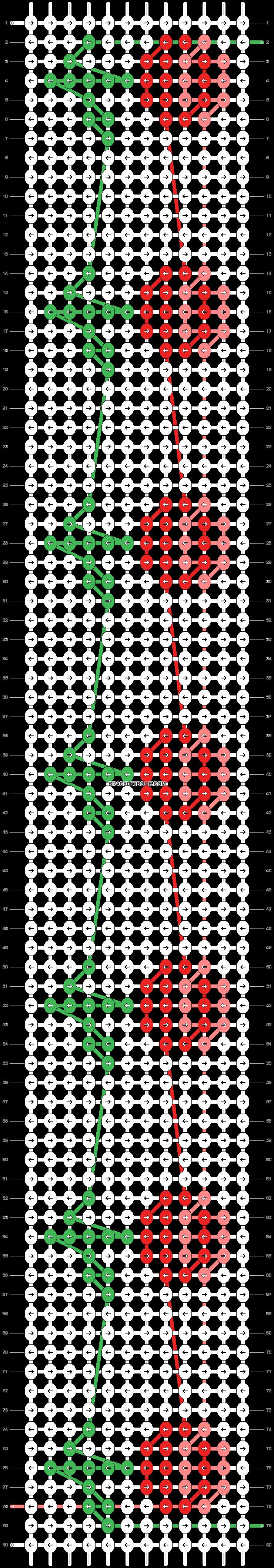 Alpha pattern #45567 variation #68392 pattern