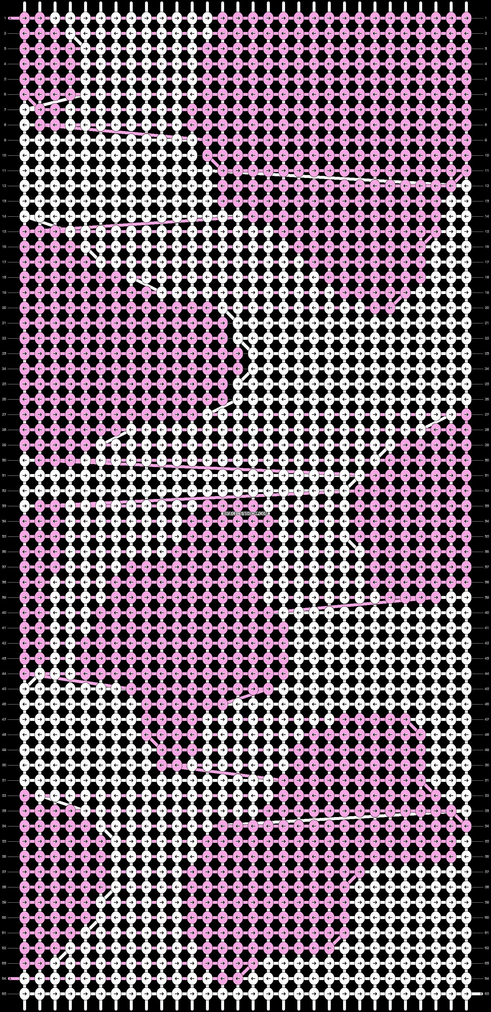 Alpha pattern #46253 variation #68581 pattern