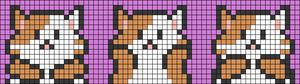 Alpha pattern #34563 variation #68974
