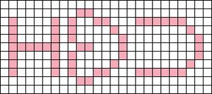 Alpha pattern #6512 variation #69124