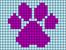 Alpha pattern #46775 variation #70296