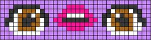 Alpha pattern #46722 variation #70592