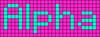 Alpha pattern #696 variation #71512