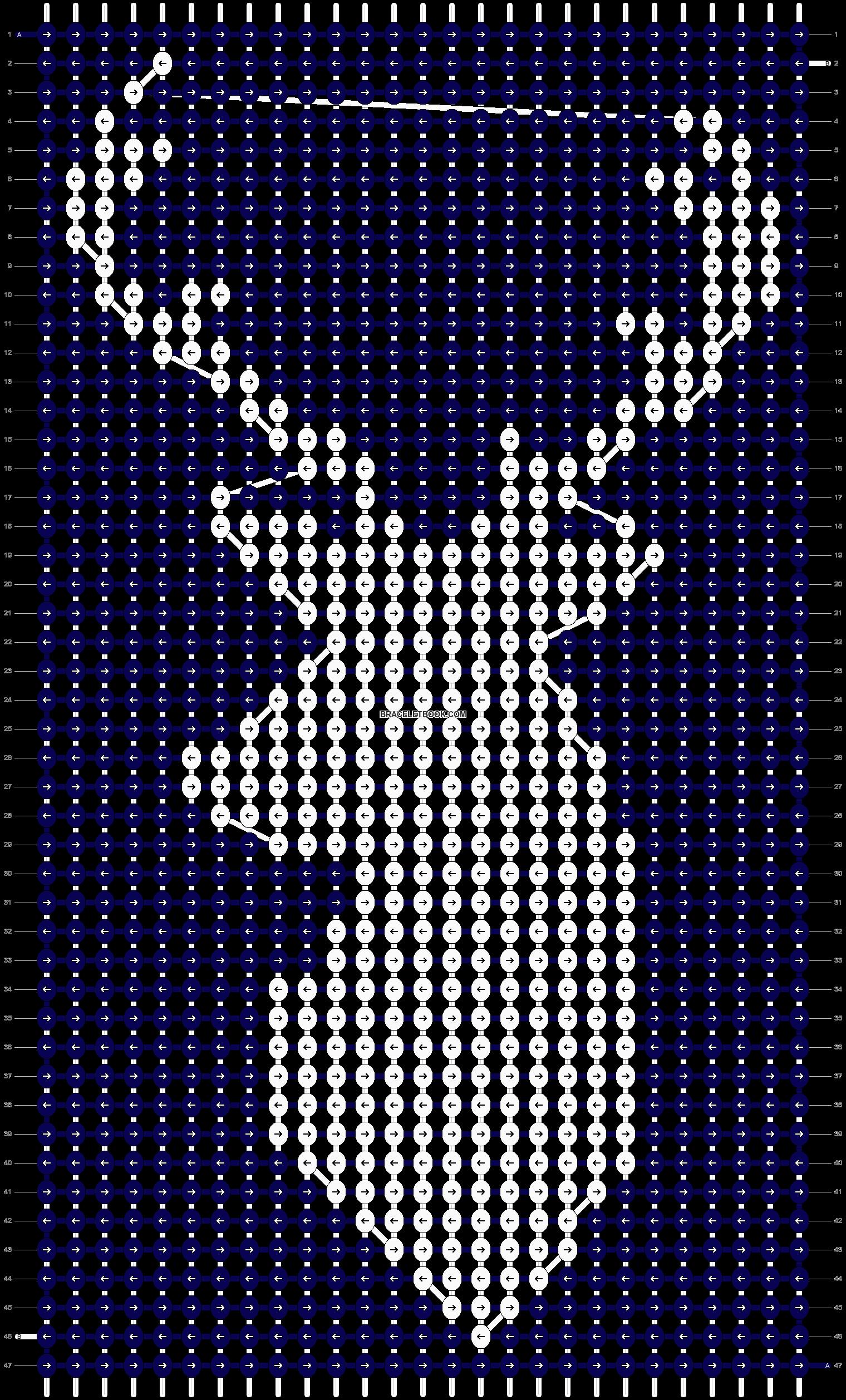 Alpha pattern #11887 variation #72105 pattern