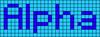 Alpha pattern #696 variation #72569