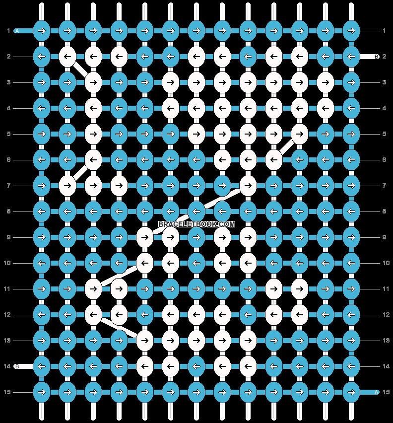 Alpha pattern #4183 variation #72664 pattern