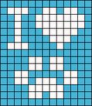 Alpha pattern #4183 variation #72664