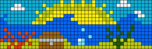 Alpha pattern #34334 variation #72666