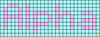 Alpha pattern #696 variation #72771