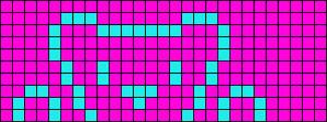 Alpha pattern #894 variation #74111
