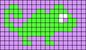 Alpha pattern #21683 variation #74128