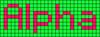 Alpha pattern #696 variation #74557