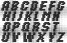 Alpha pattern #26781 variation #75127