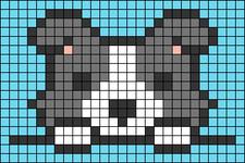 Alpha pattern #40019 variation #75201
