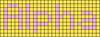 Alpha pattern #696 variation #75500