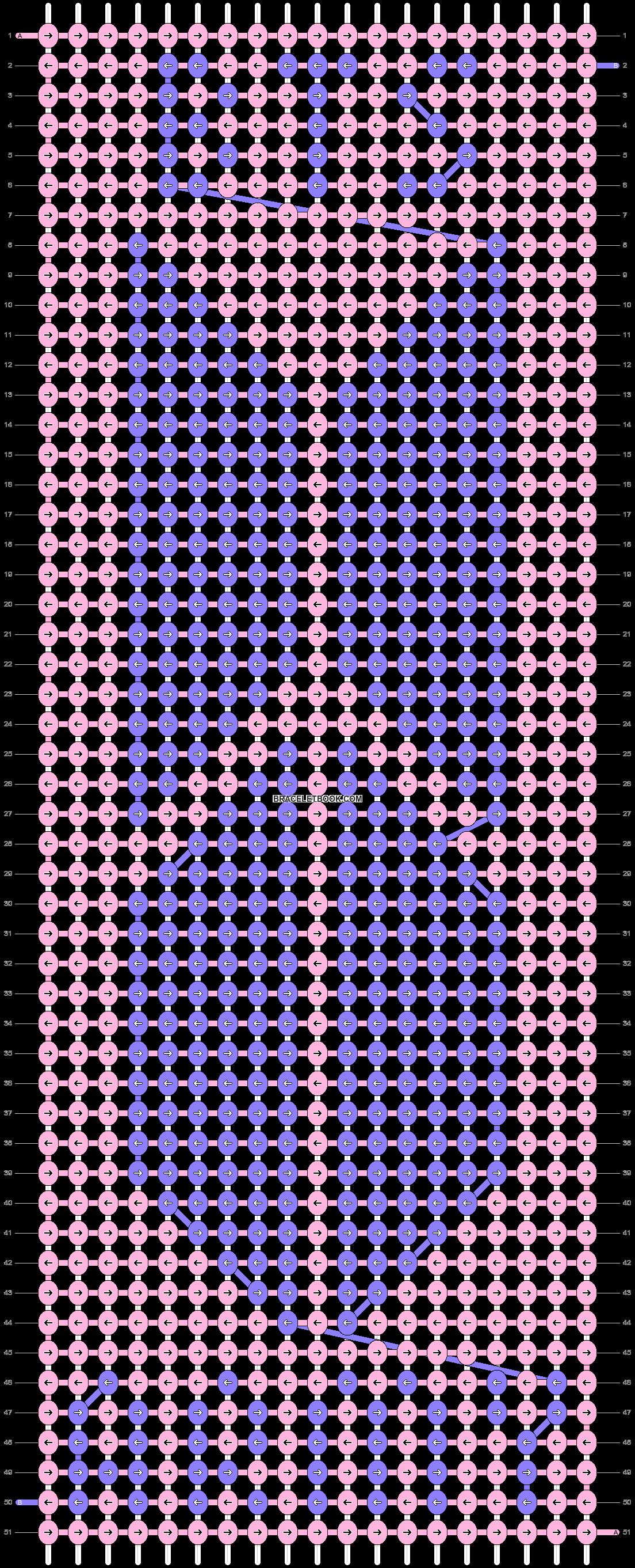 Alpha pattern #38618 variation #75514 pattern