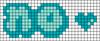 Alpha pattern #46000 variation #75767