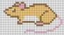 Alpha pattern #14710 variation #75980