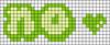 Alpha pattern #46000 variation #76195