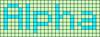 Alpha pattern #696 variation #76330