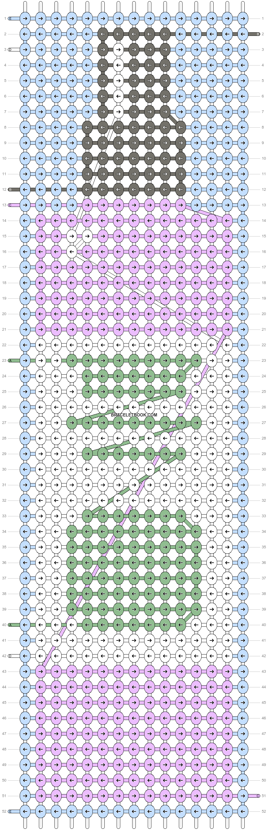 Alpha pattern #49028 variation #76834 pattern