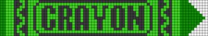 Alpha pattern #27811 variation #76879