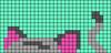 Alpha pattern #34270 variation #77055