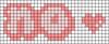 Alpha pattern #46000 variation #77309