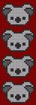 Alpha pattern #48955 variation #78459