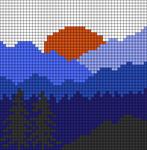Alpha pattern #48626 variation #78518
