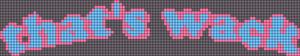 Alpha pattern #49871 variation #79055