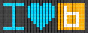 Alpha pattern #49972 variation #79226