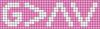 Alpha pattern #41855 variation #79637