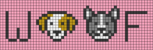 Alpha pattern #36212 variation #79858