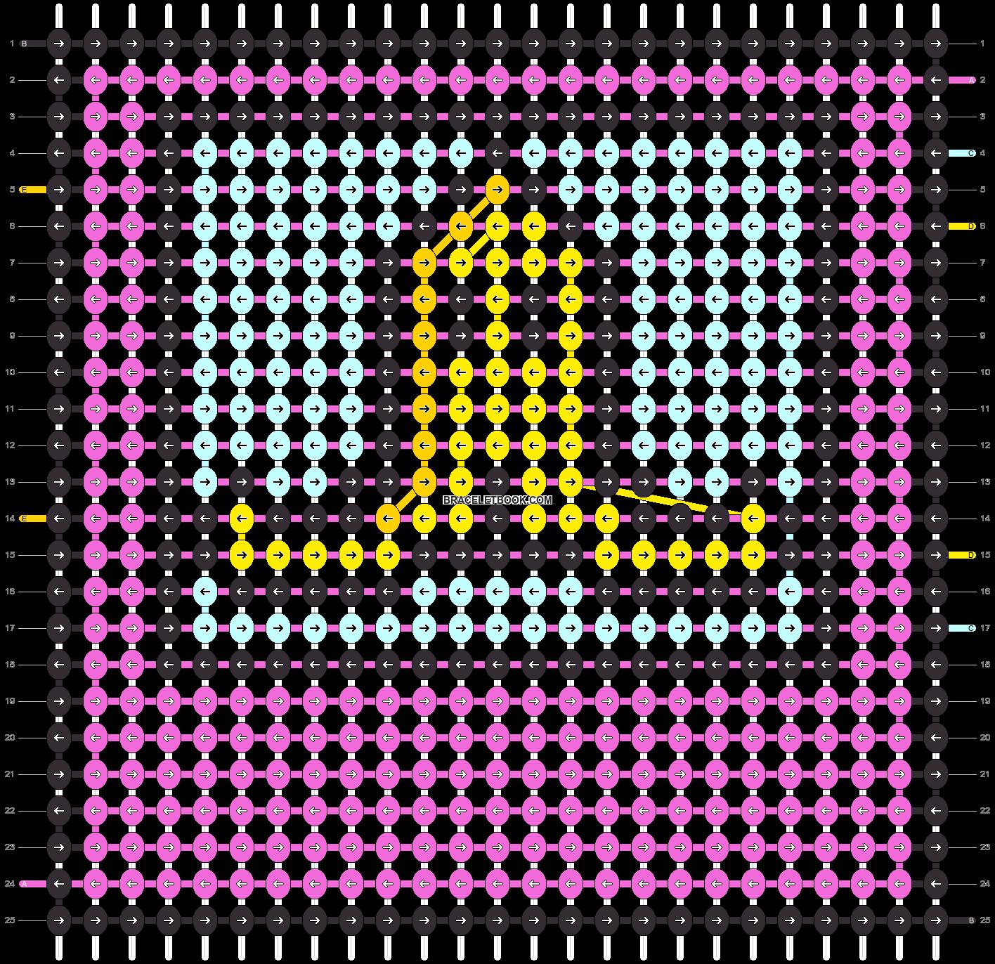 Alpha pattern #50490 variation #79863 pattern