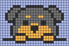 Alpha pattern #39782 variation #79866