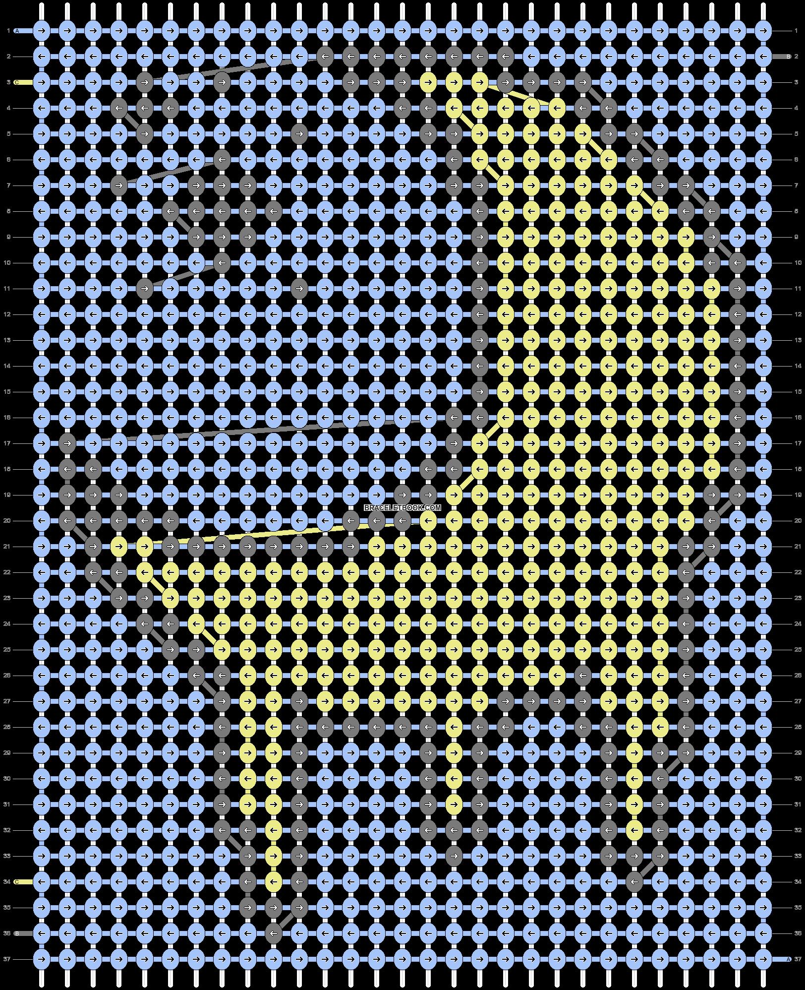 Alpha pattern #50427 variation #80144 pattern