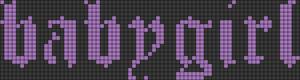Alpha pattern #39292 variation #80279