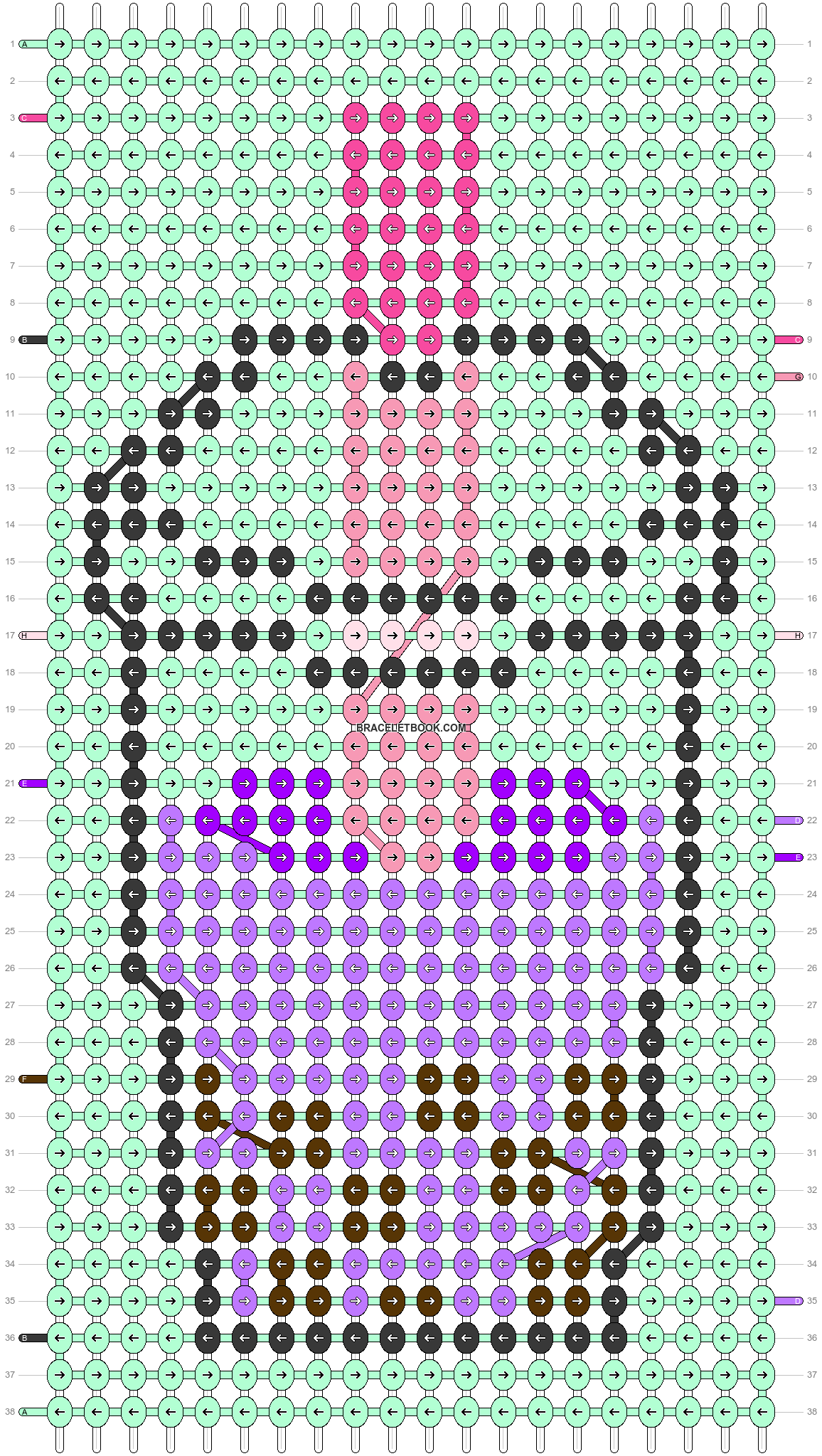 Alpha pattern #49642 variation #80355 pattern