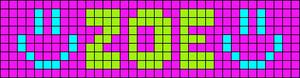 Alpha pattern #1205 variation #80736