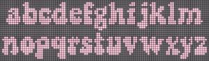 Alpha pattern #38069 variation #80972