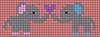 Alpha pattern #51141 variation #81441