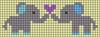 Alpha pattern #51141 variation #81446