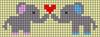 Alpha pattern #51141 variation #81599