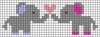Alpha pattern #51141 variation #81633