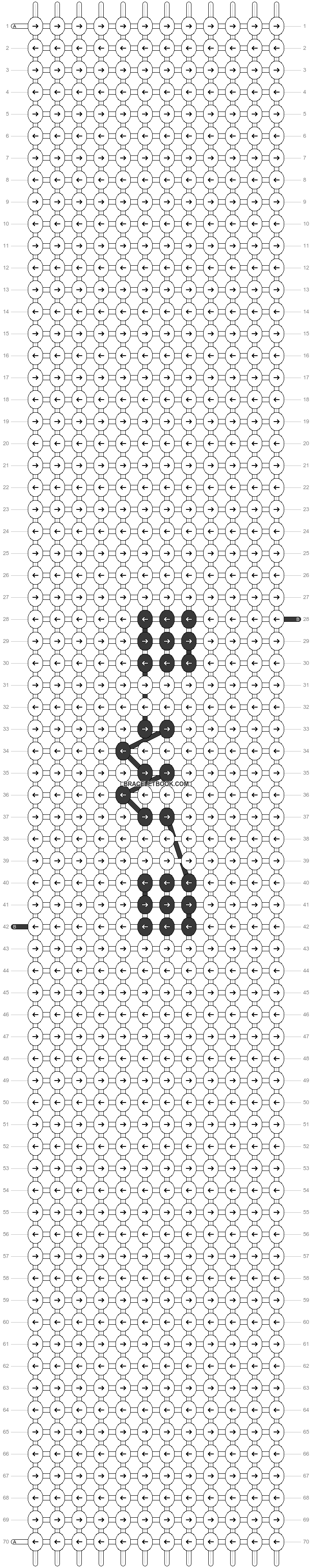 Alpha pattern #45878 variation #81901 pattern