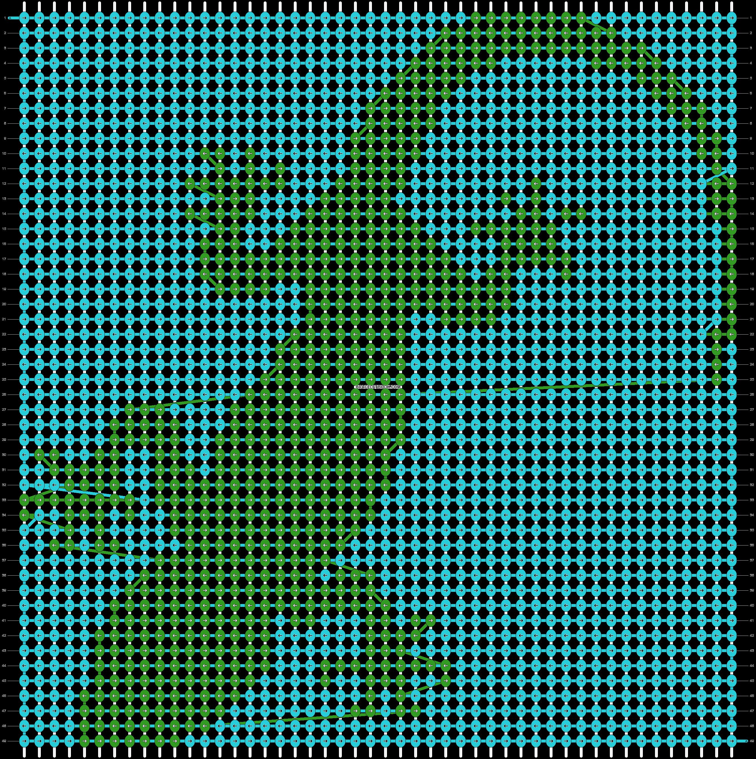 Alpha pattern #51173 variation #82356 pattern