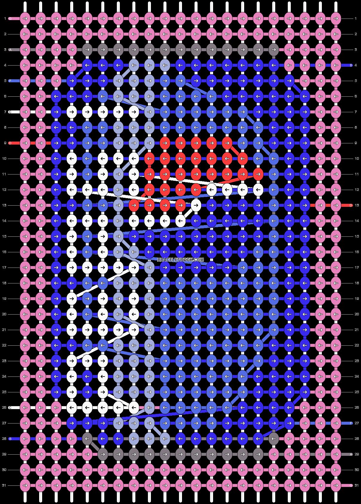 Alpha pattern #45563 variation #83402 pattern