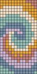 Alpha pattern #31521 variation #84003