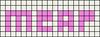 Alpha pattern #6796 variation #84713